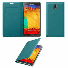 Blue Mobile Phone Flip Cases for Samsung Galaxy Note