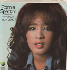 RONNIE SPECTOR -TRY SOME BUY SOME- 1832 APPLE 45 -NEW-BEATLES-GEORGE HARRISON