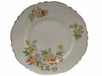 Homer Laughlin Republic Fine China Ironstone Dinner Plate Yellow Orang Flower