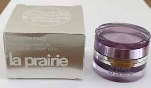 La Prairie Platinum Rare Haute Rejuvenation Eye Cream 3ml Unbenutzt Augencreme