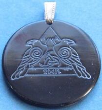 Odins Raben Hugin und Munin Amulett, Horn