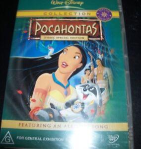 Pocahontas 2 Disc Special Edition (Australia Region 4) Walt Disney DVD - New