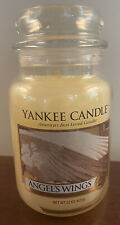 NEW - Yankee Candle Angel's Wings - Large Jar Candle  - 22 oz - Discontinued