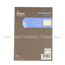 Flex by Filofax A5 Thin Ruled Pages Diary Memo Planner Travel Journal Notebook