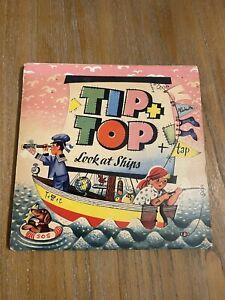VTG TIP + TOP  Book~ POP UP ~1964 LOOK AT SHIPS V. KUBASTA  LONDON