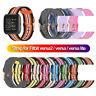 de bande Manche Bracelet Bande de nylon For Fitbit Versa 2 Versa Lite Blaze