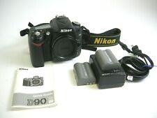 Nikon D90 Digital SLR Camera - Black (Body Only)  Shutter Ct..#23,304