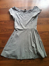 Women's/Ladies Forever 21 Cotton Skater Dress in Grey - Size Medium