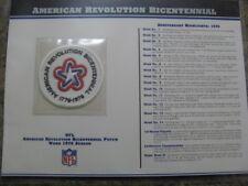 American Revolution Bicentennial Patch Willabee & Ward