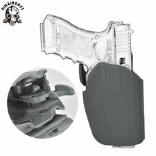 Tactical Universal Airsoft Pistol Holster 579 Lock Right Hand waist Holsters FG