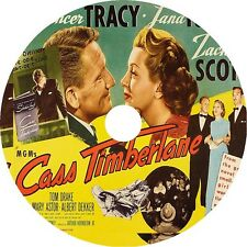 Cass Timberlane DVD Spencer Tracy Lana Turner Zachary Scott V Rare 1947