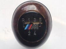 BMW E36 M3 5 Speed Manual Walnut Wood & Leather Gearknob