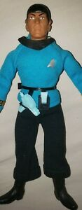 "MEGO MR. SPOCK STAR TREK FIGURE 1974 original type 2 body ,8"" with accessories"