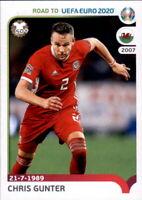 Road to EM 2020 - Sticker 436 - Chris Gunter - Wales