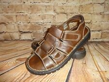 Montego Bay Club Womens Sandals Size 9 Slingback Fisherman Style Style Brown