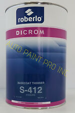 Roberlo Dicrom PPG Dupont BASF Sikkens Sherwin Willams standard paint reducer