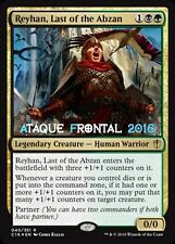 MTG REYHAN, LAST OF THE ABZAN - Reyhan, última Abzan - COMMANDER 2016 ENGLISH NM