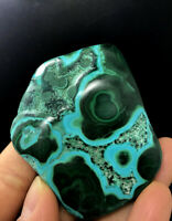 ]uperb Polished Blue Chrysocolla w/Green Malachite Rock Mineral Specimen lk032