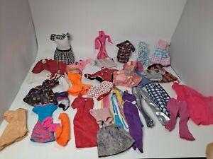 DOLL CLOTHES Lot 30 Barbie Skipper /Clone / 1970s 80s 90s