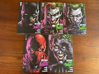5 Batman Three Jokers #1, 2, 3-Main & Variant Covers-New Never Read-Archival Bag