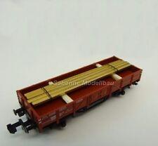 Fleischmann N Niederbordwagen mit Ladegut aus Startpackung TOP C1413