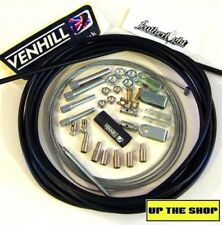 4 meter Black Venhill Universal Throttle Cable Kit car, rear engine, race, rally
