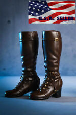 1/6 Avengers Scarlet Witch Boots BROWN For Hot Toys PHICEN Female Figure ❶USA❶