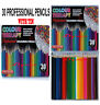 Professional Premium 30 Colouring Pencils  Artists Quality Colour Therapy in Tin
