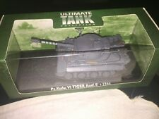 Atlas Editions Tiger Tank PZ. Pour Kpfw. VI Tiger Ausf. E 1944 Comme neuf...