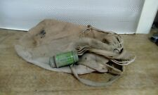 Vintage Canvas Bag With Mk V Anti Dimming Tin Gas Mask?