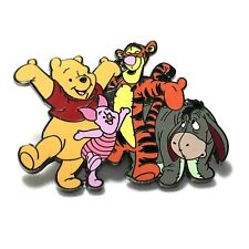 Disney Pin Dlr Winnie the Pooh Tigger Piglet Eeyore Gang 20810