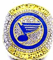 2019 ST LOUIS BLUES NHL STANLEY CUP CHAMPIONSHIP RING SIZE 15
