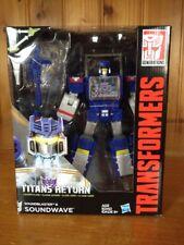 Transformers Generations Titans Return Leader Soundwave (Blaster Mold) MISB