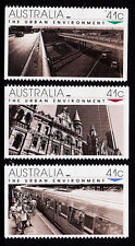 1989 The Urban Environment  - MUH Complete Set of 3 Booklet Stamps
