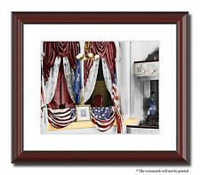 """Ford's Theatre Lincoln assassination 11x14"""" Framed Photo Color Civil War -02961"""