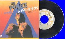 POLICE - DE DO DO DO - A&M LBL - JAPANESE 45 + INSERT