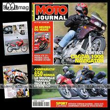 MOTO JOURNAL N°1420 HONDA NT 650 DEAUVILLE XL V TRANSALP 24 HEURES DU MANS 2000