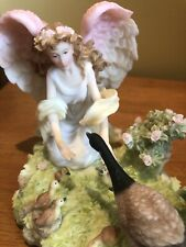 "Seraphim Classics 84317 Jessica ""Grateful Heart"" 2001 Angel~Canadian Goose Roman"