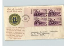 KENTUCKY State Anniversary, Plate Block, 1942 First Day of Issue