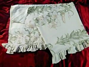 Laura  Ashley  curtains.  Pre- owned