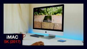 Apple iMac 27-inch Retina 5K 3.4GHz Core i5 AMD Radeon Pro 570 32GB RAM 2TB SSD