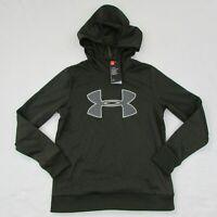 Under Armour Womens Sweatshirt Pull Over Hoodie 1317890 358 Dark Green Small