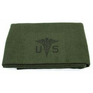 U.S. Army Medical Blanket (Classic Wool Reproduction)