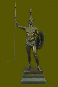 Bronze Casting Greek Myth Hero Achilles Statue Warrior Hot Casting Figurine Sale