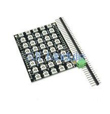 8x5 40 LED Matrix WS2812 LED 5050 RGB Full-Color Driver Board For Arduino