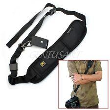 Nylon Quick Release Single Shoulder Sling Belt Strap For DSLR Camera Canon Nikon