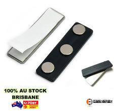 1 x Neodymium Magnetic Name Badge Name Tag Magnet   PACEMAKER WARNING