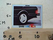 STICKER,DECAL SAAB TURBO 16S CAR AUTO