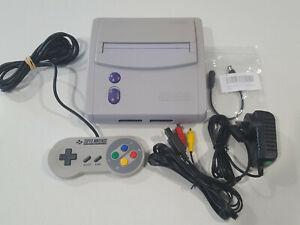 Super Nintendo SNES Jr SNS-101 Console | Controller | Aus Power | NTSC USA/CAN