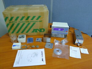 AND AD4212B-101 High precision weighing balance modules for Weighing Pipette Cal